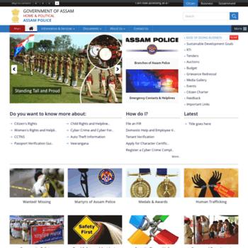 Assampolice.gov.in thumbnail