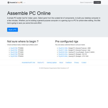 Assembleyourpc.net thumbnail