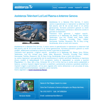 Centro Assistenza Tv Lg.Assistenza Tv Com At Wi Assistenza Tv Genova