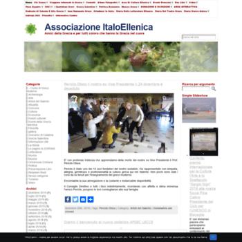 Associazioneitaloellenica.org thumbnail