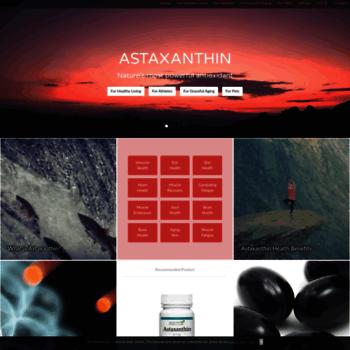 Astaxanthin.net thumbnail