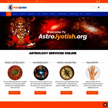 astrojyotish org at WI  Best Indian Astrologer | Vedic