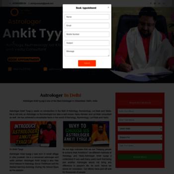 Astrologerankittyagi.com thumbnail