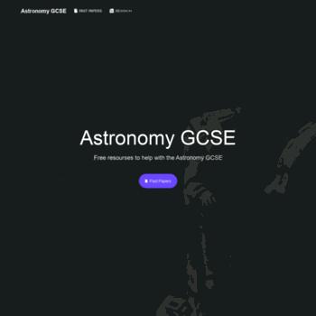 Astronomygcse.cf thumbnail