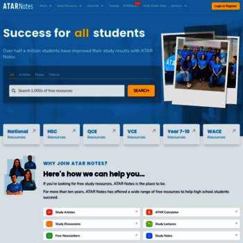 atarnotes com at WI  ATAR Notes | Australia-wide Online