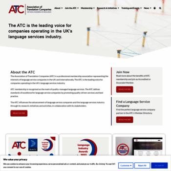 Atc.org.uk thumbnail