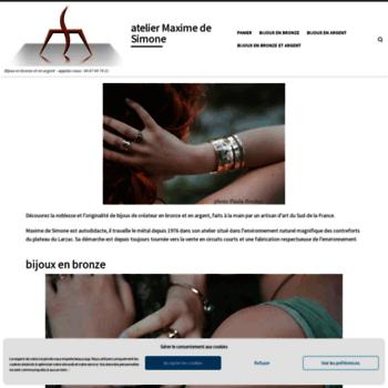 Atelier-desimone.fr thumbnail
