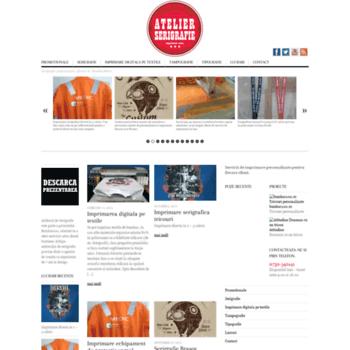 Atelier-serigrafie.ro thumbnail