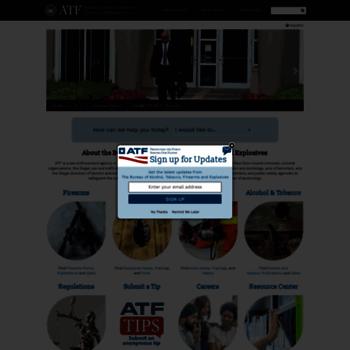 Atf.gov thumbnail
