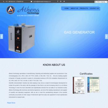 Athenatechnology.co.in thumbnail