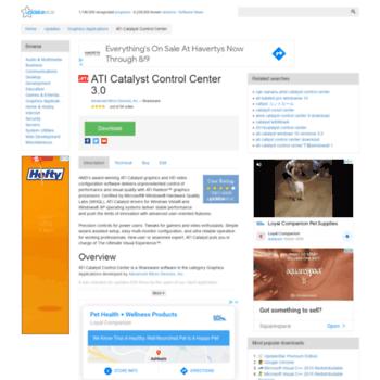 Ati-catalyst-control-center.updatestar.com thumbnail