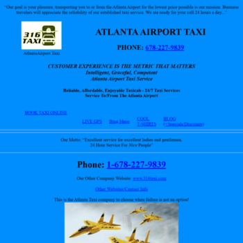 Atlantaairport.taxi thumbnail