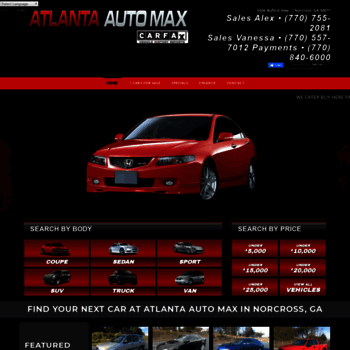 Atlanta Auto Max >> Atlantaautomax Com At Wi Atlanta Auto Max Buy Here Pay