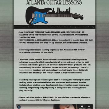 Atlantaguitarlessons.net thumbnail