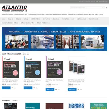 Atlanticbooks.co.in thumbnail