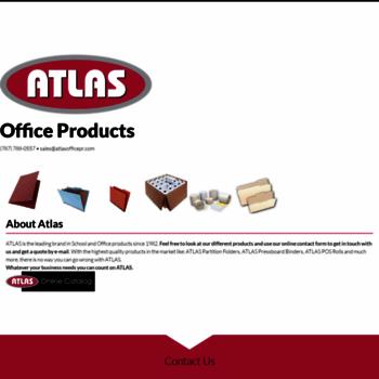 Atlasofficepr.com Thumbnail. ATLAS Office Products