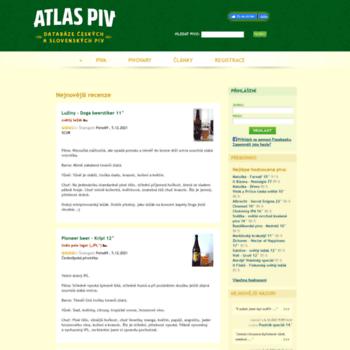 Atlaspiv.cz thumbnail