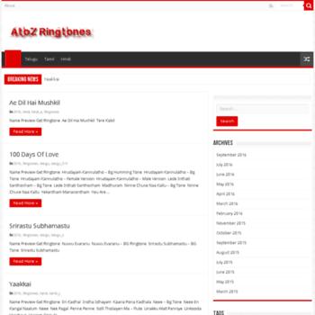 Atozringtones.net thumbnail