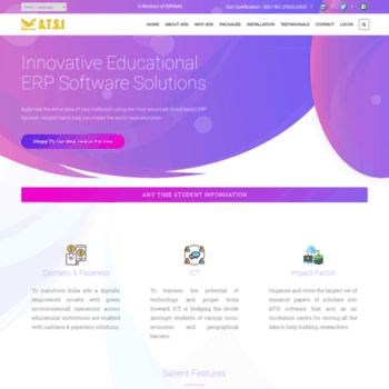 atsi in at WI  Best Online School Management Software India