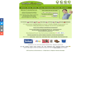 Auctionfinal Com At Wi Ebay Last Minute Auctions With No Bids Ebay Bargain Finder On Ebay
