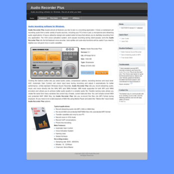 Audio-recorder.biz thumbnail