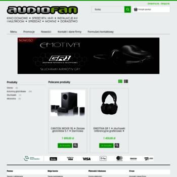 Audiofan.eu thumbnail