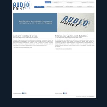 Audioprint.fr thumbnail