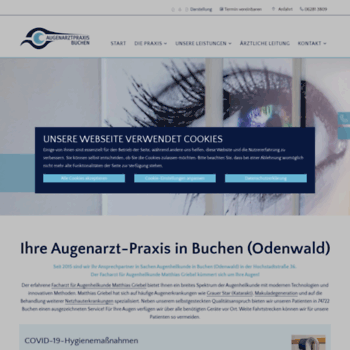 Augenarzt-buchen.de thumbnail
