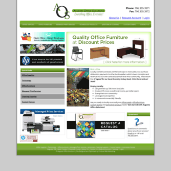 Augustaofficesolutions Com At Wi Office Supplies Furniture