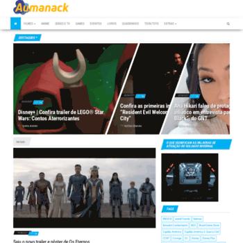 Aumanack.com.br thumbnail