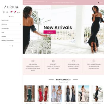 aurium.com.au at WI. Aurium Boutique  424d5dbca