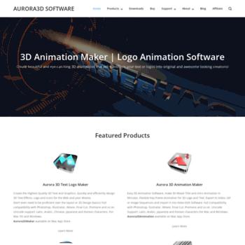 aurora3dsoftware com at WI  Aurora 3D Interactive Presentation | 3D