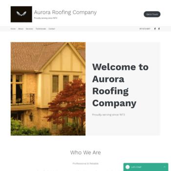 Auroraroofingcompany.net thumbnail