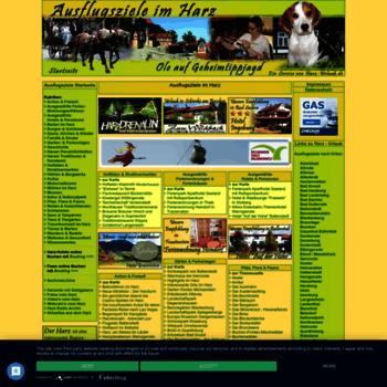 Ausflugsziele-harz.de thumbnail