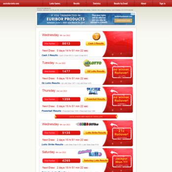 Australia-lotto.com thumbnail