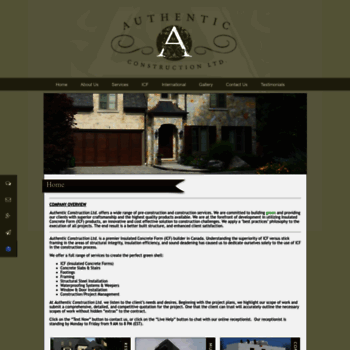 Authenticconstruction.ca thumbnail