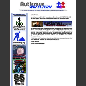 Autismus-wir-eltern.de thumbnail