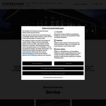 Auto-hinterbauer.at thumbnail