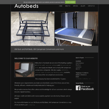 autobedsuk com at WI  Rock And Roll Campervan Beds