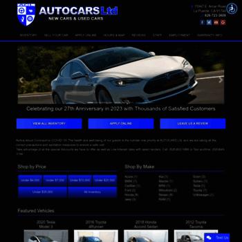 Autocarsltd.com thumbnail
