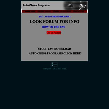 autochess com at WI  yay • auto chess program •