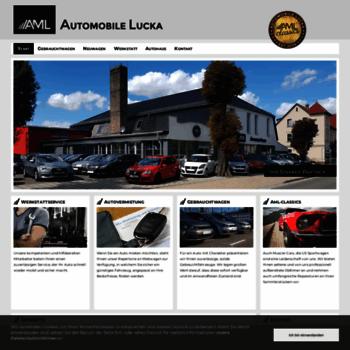 Automobile-lucka.de thumbnail