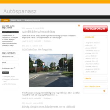 Autospanasz.hu thumbnail