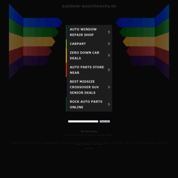 Autoteile-waschlowsky.de thumbnail