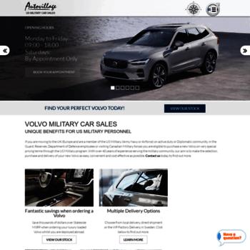 Autovillagemilitarysales Com At Wi Volvo Military Car Sales Uk