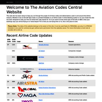 Avcodes.co.uk thumbnail