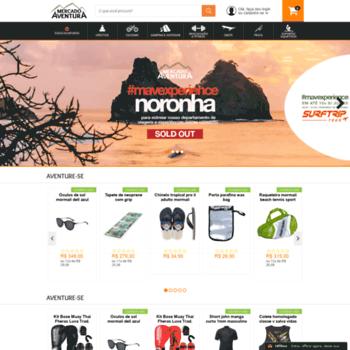 aventurashop.com.br at WI. Mercado Aventura Esporte e Lazer  bf8ec9c156c35