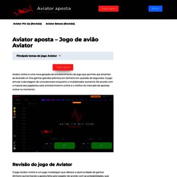 Aviators.com.br thumbnail