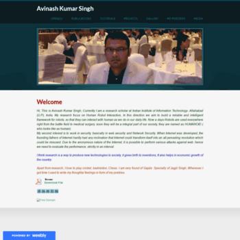 Avinashfuturevision.weebly.com thumbnail
