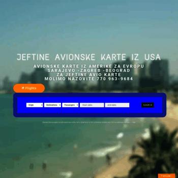 Avio Karte.Avionskekarte Net At Wi Avionske Karte Avio Karte